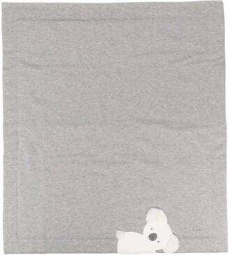 Il Gufo Cotton Fleece Cradle Blanket