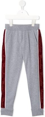 MonnaLisa Logo Stripe Sweatpants