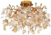Eurofase Lighting 29056-019 Campobasso Flush Mounts 5-Light, Gold