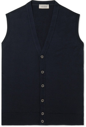 John Smedley Staveley Merino Wool Sweater Vest
