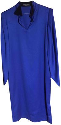 Pierre Cardin Blue Wool Dresses