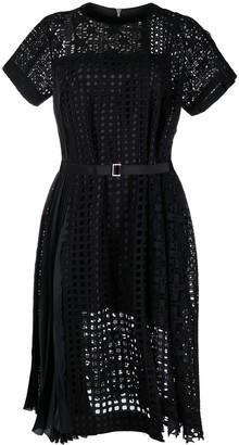 Sacai Star Cut-Out Dress