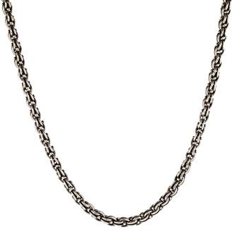John Varvatos Silver Chain Necklace