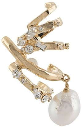 Givenchy Embellished Gold-Plated Cuff Earring