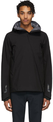 Descente Black Sun Shield Hardshell Jacket