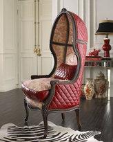 Toile Balloon Chair