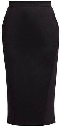 Altuzarra Koharu Wool Pencil Skirt