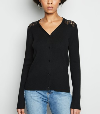 New Look Lace Back Cardigan