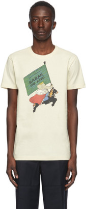 Lanvin Beige Babar Edition The King T-Shirt