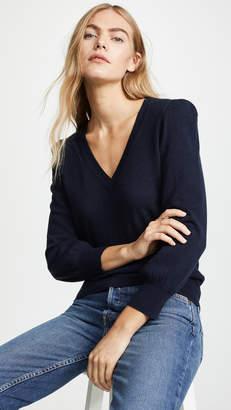 Autumn Cashmere Puff Sleeve Cashmere Sweater