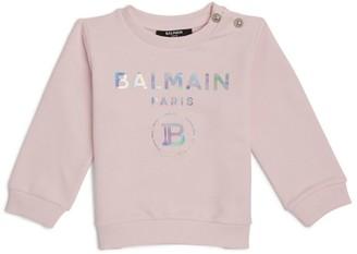 Balmain Kids Holographic Logo T-Shirt (3-36 Months)