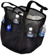 BeachMall Womens Mesh Lightweight Tote Handbag