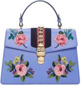 Gucci Blue Medium Sylvie Bag