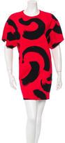 Celine Graffiti Print Mini Dress w/ Tags