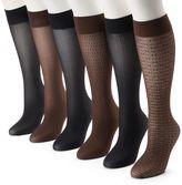 Apt. 9 6-pk. Trouser Socks