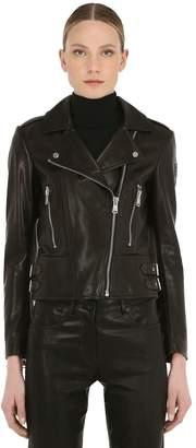 Belstaff Marvingt Leather Biker Jacket