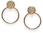 MANGO Lion hoop-earrings