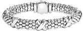 Lagos Women's 'Signature Caviar' Oval Rope Bracelet