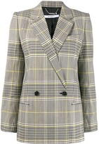 Givenchy double-breasted check blazer