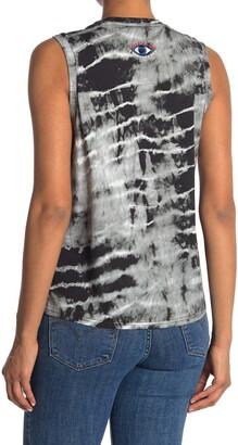 Nicole Miller Print Muscle T-Shirt