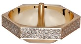 Waterford Lismore Diamond Gold Ring Holder - White