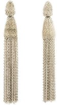 Oscar de la Renta Classic Long Chain Earrings