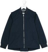 Diesel long sleeve jacket - kids - Cotton/Nylon/Polyester/Spandex/Elastane - 2 yrs