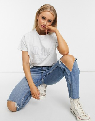 Converse relaxed fit t-shirt in white