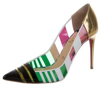 Christian Louboutin Bandy 100 Pointed-Toe Pumps