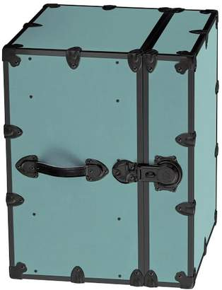 Pottery Barn Teen Canvas Dorm Trunk with Black Trim, Bedside, Pool