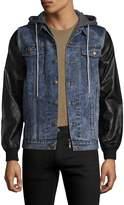 Kinetix Men's Cresent Hooded Jacket