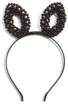 Berry Faux Pearl Bunny Headband