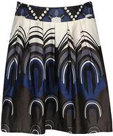 Printed Swing Skirt