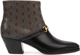 Gucci Men's boot with Interlocking G Horsebit