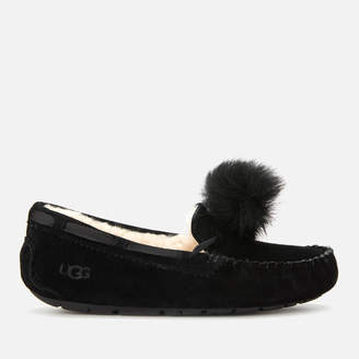 UGG Women's Dakota Pom Pom Moccasin Slippers