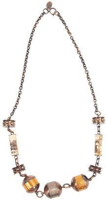 Miu Miu Metallic Metal Necklaces