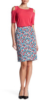 Nine West Pattern Slim Skirt