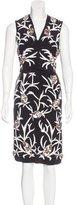 Marni Silk Embellished Dress