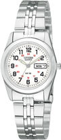 JCPenney Citizen Quartz Citizen Womens White Dial Stainless Steel Bracelet Watch EQ0510-58A