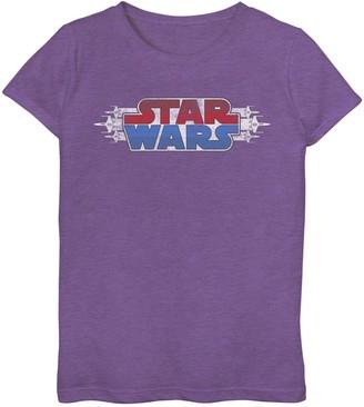 Star Wars Girls 7-16 X-Fighter Logo Tee
