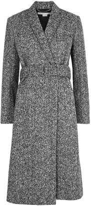 Stella McCartney Grey Belted Wool Coat