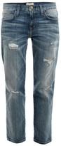 Current/Elliott The Boyfriend low-rise jeans