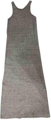 Ash Grey Cotton Dress for Women