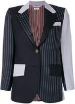 Thom Browne Contrast stripe blazer