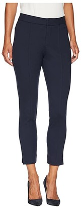 NYDJ Petite Petite Ponte - Ankle Pants (Midnight) Women's Casual Pants