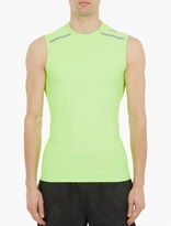 Adidas By Kolor Green Techfit Chill Vest