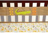 NoJo Zoobilee Stripe Crib Liner