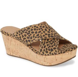 Chocolat Blu Wendy Wedge Slide Sandal
