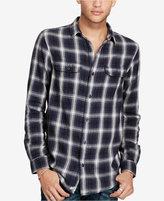 Denim & Supply Ralph Lauren Men's Plaid Cotton Twill Sport Shirt