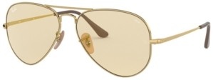Ray-Ban Aviator Metal Ii Sunglasses, RB3689 55